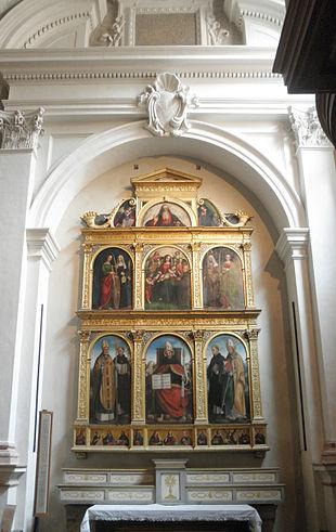 Inside Sant'Agnese Church