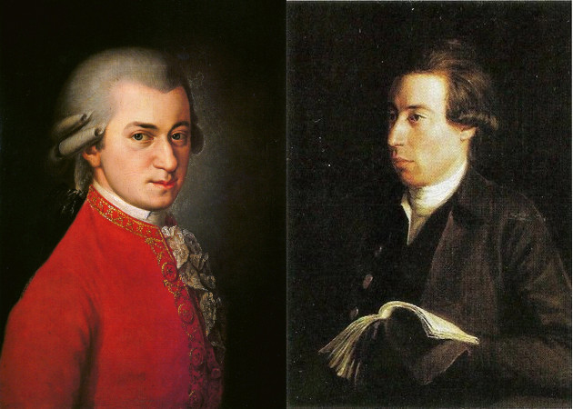 Mozart and Kraus